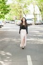 Black-h-m-shoes-black-pimkie-jacket-light-pink-bershka-skirt