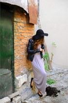 black Pimkie jacket - heather gray new look dress