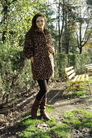 Zara pants - vintage jacket - no brand boots