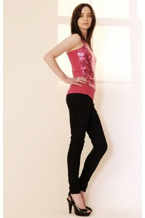 Oasis jeans - Primark top - next heels
