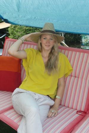casio watch - Zara shirt - Accessorize bracelet - Bijou Brigitte ring