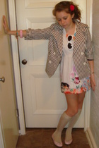 My mother dress - forever 21 jacket - H&M socks - JCrew accessories - London Sol