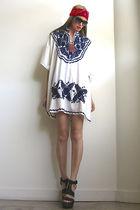 white Girl On A Vine dress