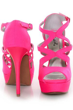 sandal peep toe heels