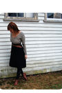 Brown-unknown-brand-belt-black-american-apparel-skirt-black-target-tights-