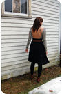 Brown-unknown-brand-belt-black-american-apparel-skirt-black-target-tights-