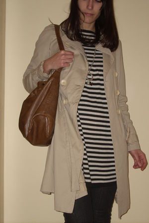 max&co dress - Bershka jeans - BLANCO purse