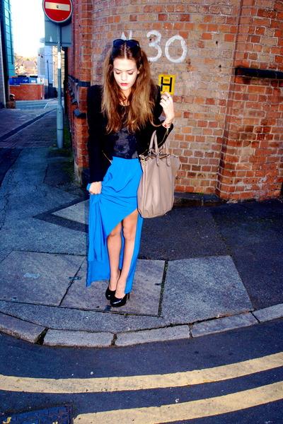 Zara jacket - Topshop skirt