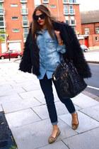 Wrangler jeans - YSL bag