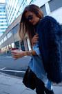 Zara-jeans-zara-shirt-ysl-bag-chanel-flats