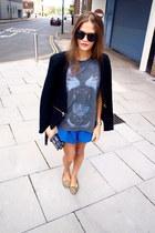 Zara jacket - Topshop shorts