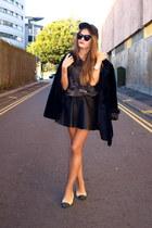 Zara t-shirt - H&M hat - vintage Saint Laurent jacket - Chanel flats