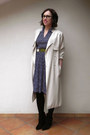 Black-stradivarius-boots-navy-twitch-vintage-dress-neutral-h-m-coat