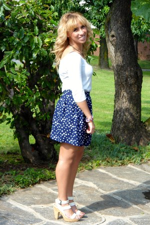 cotton Give Me Some Candy skirt - cotton Zara blouse