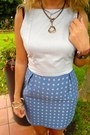 Turquoise-blue-give-me-some-candy-dress-gold-mango-necklace