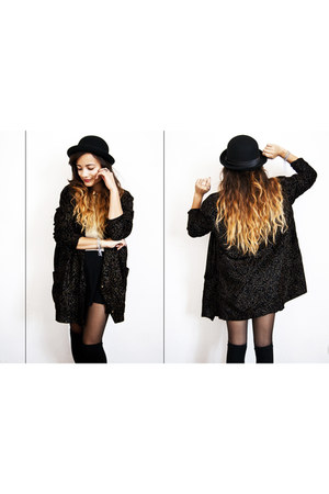 H&M hat - thrifted vest