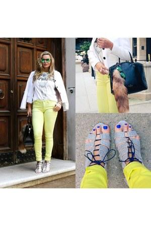 Valentino bag - sandals bag - loeffler randall heels