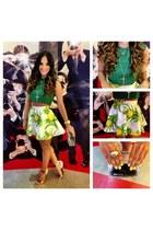 Glency Feliz skirt - LAMB heels
