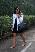 Mecca jacket - Mecca dress - Carolina Herrera bag - Prada sunglasses
