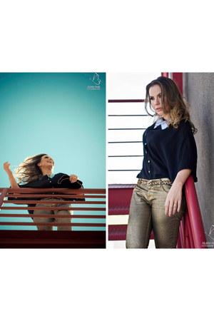 Zara jeans - Riachuelo skirt - Renner belt