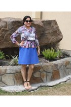 dress cynthia rowley dress - peplum H&M blouse