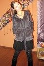 Black-detailed-h-m-tights-heather-gray-soft-unknown-brand-hoodie-black-layer