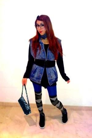 jacket - bag - dress