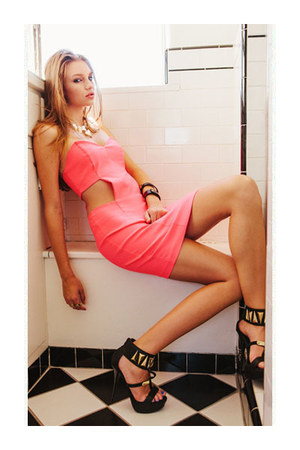 ring - dress - bracelet - bracelet - heels
