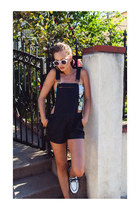 chain link ring ring - sunglasses - loafers - top - bracelet - romper