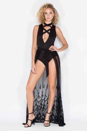 skirt - top - heels