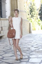 Dolce Vita dress - botkier bag - sperry topsider flats - bracelet bracelet