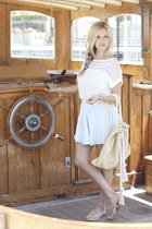 Kendra Scott ring - white Townsen sweater - Bop Basics bag
