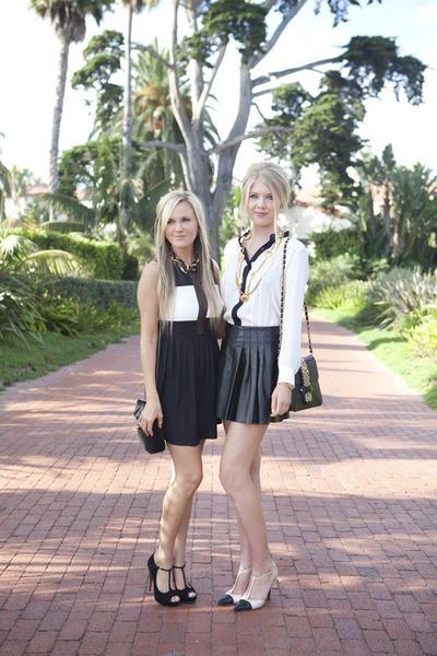 Parker dress - Gucci shoes - Hammitt purse