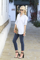 MIH Jeans shirt - MIH Jeans jeans - Emily Rosendahl bag - zeroUV sunglasses