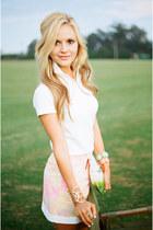 Kendra Scott bracelet - Kendra Scott bracelet - white Lilly Pulitzer shirt