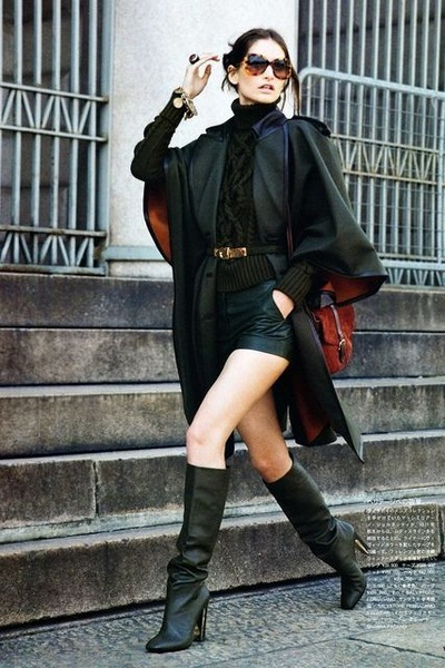 leather shorts shorts boots quot leather chic quot by gothickatt chictopia
