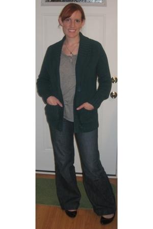 Target sweater - Gap blouse - Gap jeans - Target shoes