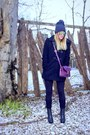 Dark-gray-desirred-steve-madden-boots-heather-gray-beanie-blush-boutique-hat