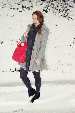 silver H&M coat
