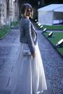 Silver-zara-blazer-cream-vintage-dress-silver-jimmy-choo-pumps