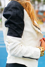 White-haute-and-rebellious-jacket-blue-haute-and-rebellious-sunglasses