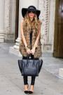 Black-haute-rebellious-leggings-black-mini-luggage-celine-bag