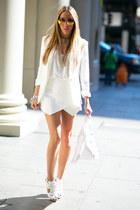white blazer HAUTE & REBELLIOUS blazer