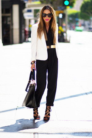 HAUTE & REBELLIOUS blazer - HAUTE & REBELLIOUS bag
