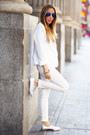 White-haute-rebellious-blazer-blue-haute-rebellious-sunglasses