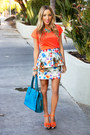 Carrot-orange-haute-rebellious-shoes-sky-blue-haute-rebellious-bag