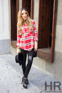 Black-haute-rebellious-leggings-red-haute-rebellious-shirt