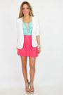 Aquamarine-chiffon-haute-rebellious-blouse