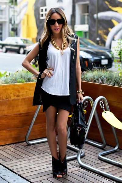 HAUTE & REBELLIOUS bag - HAUTE & REBELLIOUS sunglasses - HAUTE & REBELLIOUS top