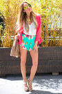 Tan-haute-rebellious-bag-hot-pink-comfort-fit-haute-rebellious-blazer